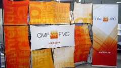 Stand portable en tissus Duo Expression 3x4 CMF-FMC
