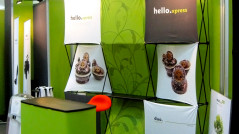 Stand Duo Hello Xpress